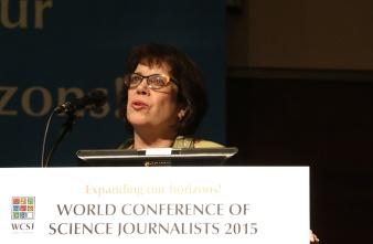 Deborah Blum es también profesora de periodismo en la  University of Wisconsin-Madison